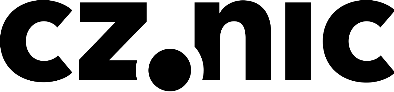 Logo: CZ.NIC vč. odkazu