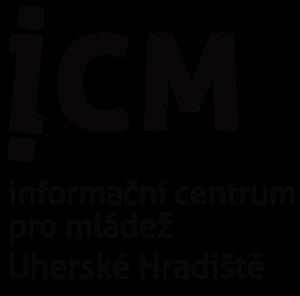 Logo: Informační centrum pro děti a mládež Uherské hradiště vč. odkazu